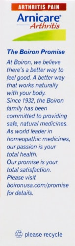 Boiron Arnicare Arthritis Homeopathic Tablets Perspective: right