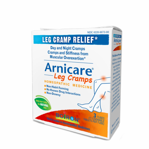 Boiron Arnicare Leg Cramps Homeopathic Tablets Perspective: right