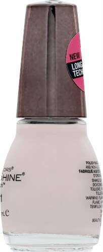 Sinful Colors Sinful Shine Tutu Thrill Step 1 Nail Polish Perspective: right