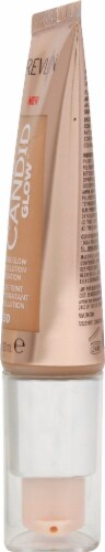 Revlon Photo Ready Candid Glow 350 Natural Tan Foundation Perspective: right