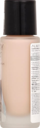 Almay Skin Perfecting 130 Cool Nude Comfort Matte Foundation Perspective: right