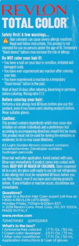 Revlon Total Color 63 Light Golden Brown Permanent Hair Color Perspective: right