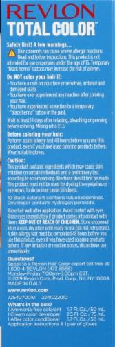 Revlon Total Color 10 Black Permanent Hair Color Perspective: right