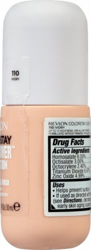 Revlon ColorStay Ivory Light Cover Foundation SPF 35 Perspective: right