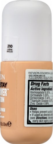 Revlon ColorStay Creme Brulee Light Cover Foundation SPF 35 Perspective: right