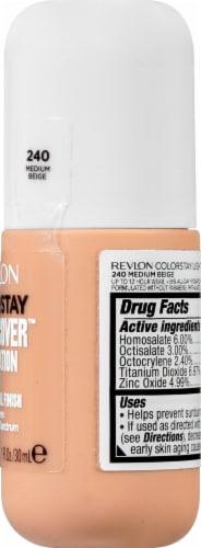 Revlon ColorStay Medium Beige Light Cover Foundation SPF 35 Perspective: right