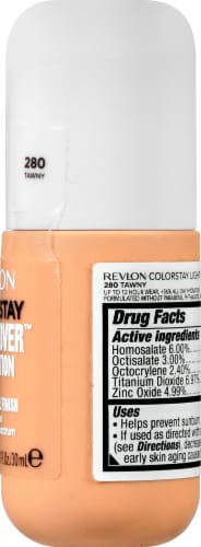 Revlon ColorStay Tawny Light Cover Foundation SPF 35 Perspective: right