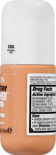 Revlon ColorStay Natural Tan Light Cover Foundation SPF 35 Perspective: right