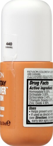 Revlon ColorStay Caramel Light Cover Foundation SPF 35 Perspective: right