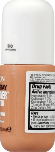 Revlon ColorStay Cappucino Light Coverage Foundation Perspective: right