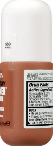 Revlon ColorStay Mocha Light Cover Foundation SPF 35 Perspective: right
