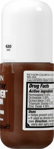 Revlon ColorStay Light Cover Java Foundation Perspective: right