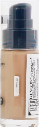 Revlon ColorStay Medium Beige Combination / Oily Skin Makeup Perspective: right