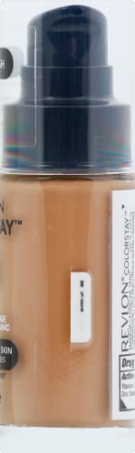 Revlon Colorstay Combination/Oily Skin True Beige Foundation Makeup Perspective: right