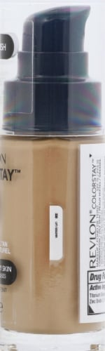 Revlon Colorstay Combo/Oily Skin Natural Beige Makeup Perspective: right