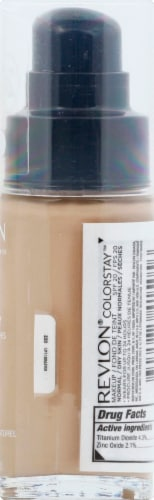 Revlon Colorstay Natural Beige 220 Normal / Dry Skin Liquid Foundation Perspective: right