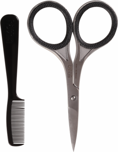 Revlon Men's Series Scissors and Comb Perspective: right