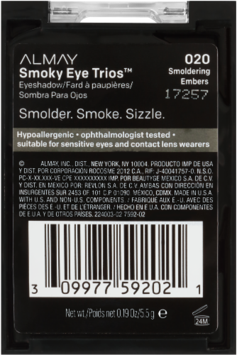 Almay Smoky Eye Trios 020 Smoldering Embers Eyeshadow Perspective: right