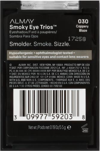 Almay Smoky Eye Trios 030 Coppery Blaze Eyeshadow Perspective: right
