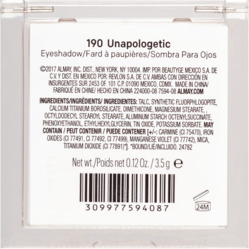 Almay Eyeshadow 190 Unapologetic Perspective: right