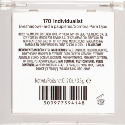 Almay Eyeshadow 170 Individualist Perspective: right