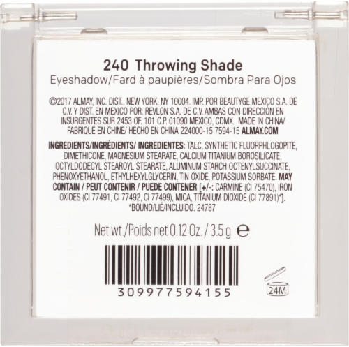 Almay Eyeshadow 240 Throwing Shade Perspective: right