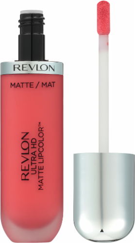 Revlon Ultra HD Matte Lipcolor 620 Flirtation Lip Gloss Perspective: right