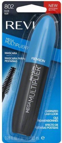 Revlon Mega Multiplier Black Mascara Perspective: right