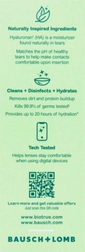 Bausch & Lomb Bio True Multipurpose Solution Perspective: right