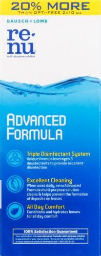 Bausch & Lomb Renu Advanced Formula Multi Purpose Solution Twin Pack Perspective: right