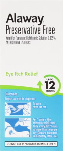 Bausch & Lomb Alaway® Antihistamine Eye Drops Perspective: right