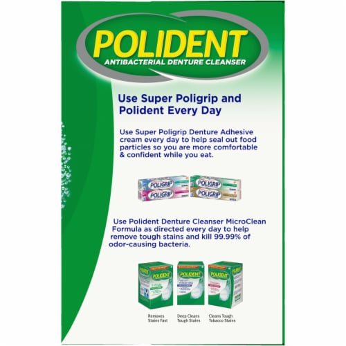 Polident 3 Minute Denture Cleanser Perspective: right