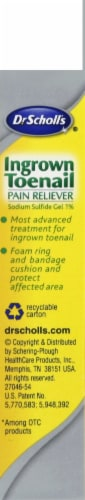 Dr. Scholl's Ingrown Toenail Pain Reliever Perspective: right