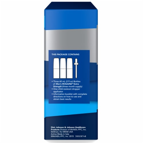Rogaine Mens Extra Strength Hair Regrowth Treatment Perspective: right