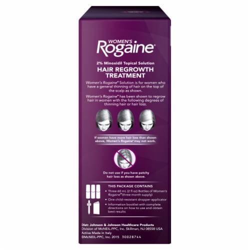 Rogaine Women's Hair Regrowth Treatment Perspective: right