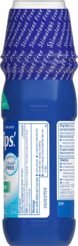 Phillips Fresh Mint Milk of Magnesia Liquid Laxative Bottle Perspective: right