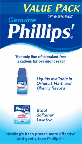 Phillips® Laxative Caplets Value Pack Perspective: right