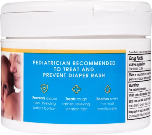 Triple Paste Zinc Oxide Diaper Rash Cream Perspective: right