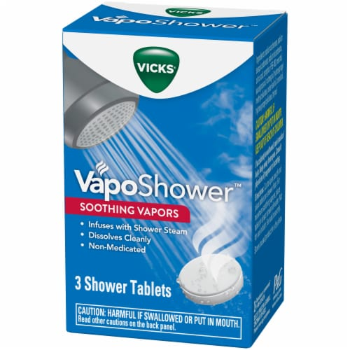 Vicks VapoShower Soothing Vapors Shower Tablets Perspective: right