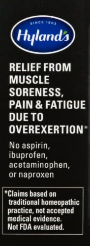 Hyland's ArniSport Homeopathic Pain Relief Tablets Perspective: right