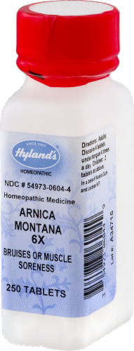 Hyland's Arnica Montana 6x Bruises or Muscle Soreness Perspective: right