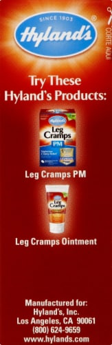 Hyland's Homeopathic Leg Cramps Relief Tablets Perspective: right