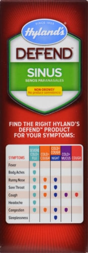 Hyland's Homeopathic Defend Sinus Tablets Perspective: right
