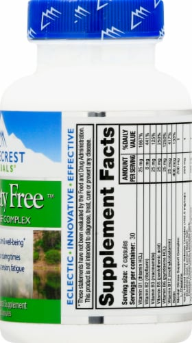 Ridgecrest Herbals Anxiety Free Capsules Perspective: right