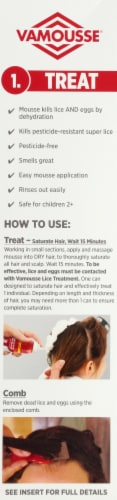 Vamousse Complete Lice Treatment Kit Perspective: right