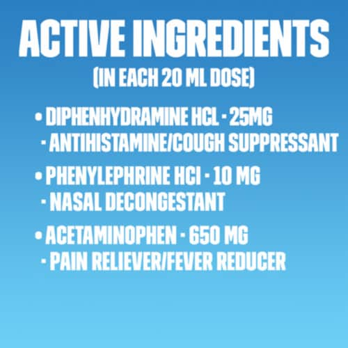 Mucinex Fast-Max Max Strength Day Severe Cold & Night Cold & Flu Liquid Gels Medicine Perspective: right