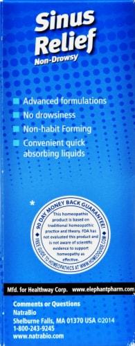 NatraBio Sinus Relief Liquid Perspective: right