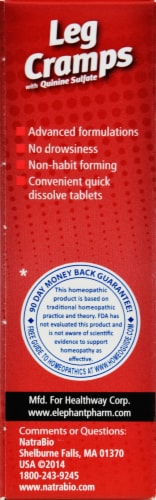 NatraBio Leg Cramps Tablets Perspective: right
