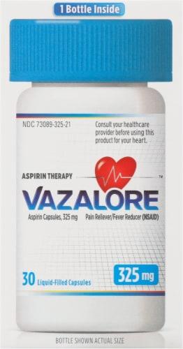Vazalore Liquid-Filled Aspirin Capsules Perspective: right