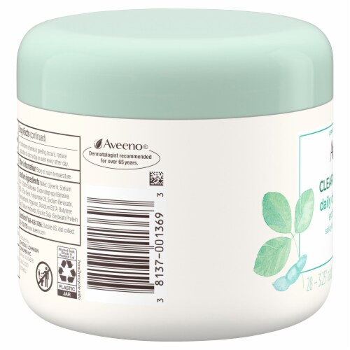 Aveeno Clear Complexion Daily Cleansing Self-Foaming Pads Perspective: right